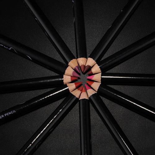 סט 12 עפרונות תוחמי שפתיים בצבעים שונים