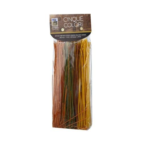 ספגטי אורגני בחמישה צבעים השדה - 500 גרם