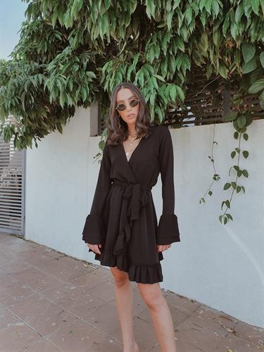 שמלת אנדראה - שחורה
