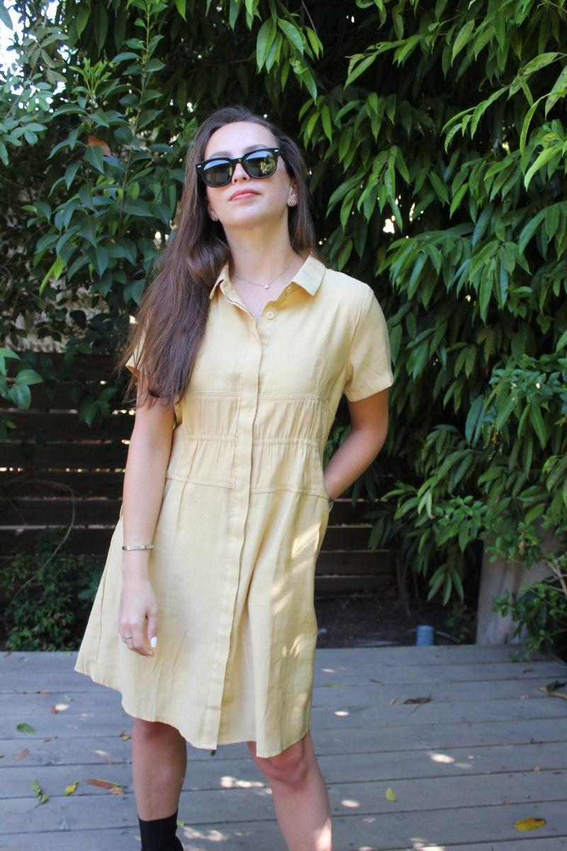 שמלת ריי צהובה