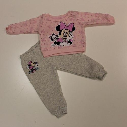 חליפת פוטר תינוקת מיני ורוד