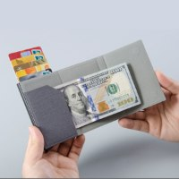 ארנק שולף כרטיסי אשראי עם מקום לשטרות