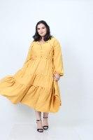 שמלת אייבי חרדל