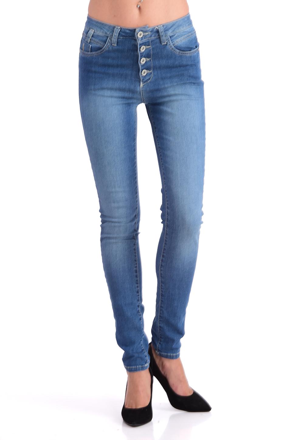 ג'ינס ליאנה כחול