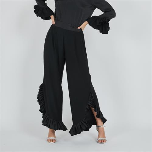 מכנס פלמנקו שחור