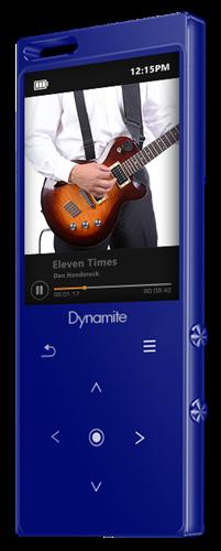 נגן MP3 דיינומייט 8GB מבית סאביקס גוף מתכת בלוטוס ורמקול מובנה