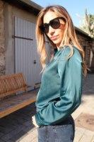 חולצת הלנה ירוקה