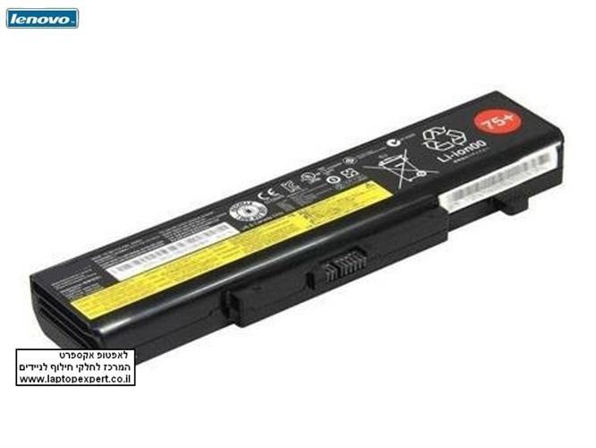 סוללה למחשב נייד לנובו מקורית 6 תאים Lenovo IdeaPad G480 G485 G580 G585 Battery L11L6F01 L11L6R01 L11L6Y01
