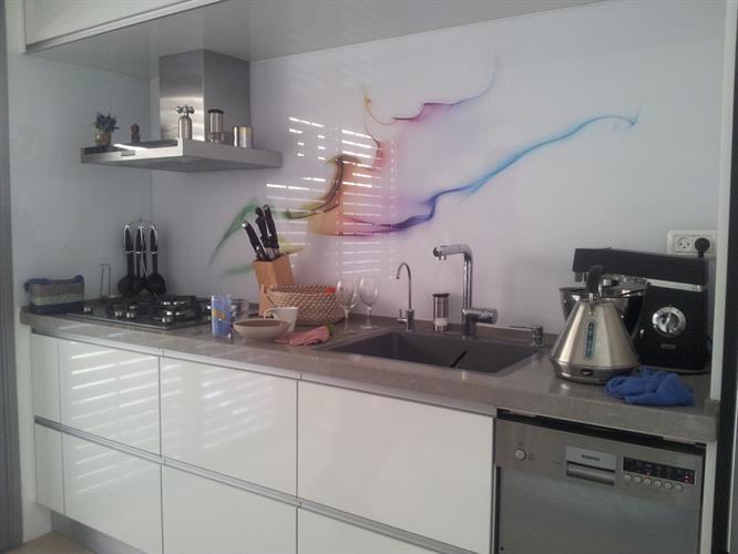 חיפוי זכוכית מודפסת למטבח 5