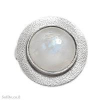 טבעת מכסף משובצת אבן מונסטון  RG6111   תכשיטי כסף 925   טבעות כסף