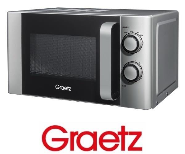 Graetz מיקרוגל מכני 20 ליטר כסוף דגם MW-227