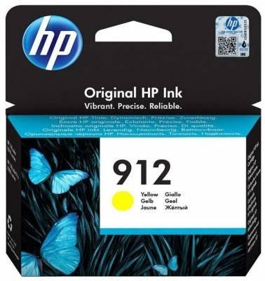 ראש דיו מקורי צהוב HP 912
