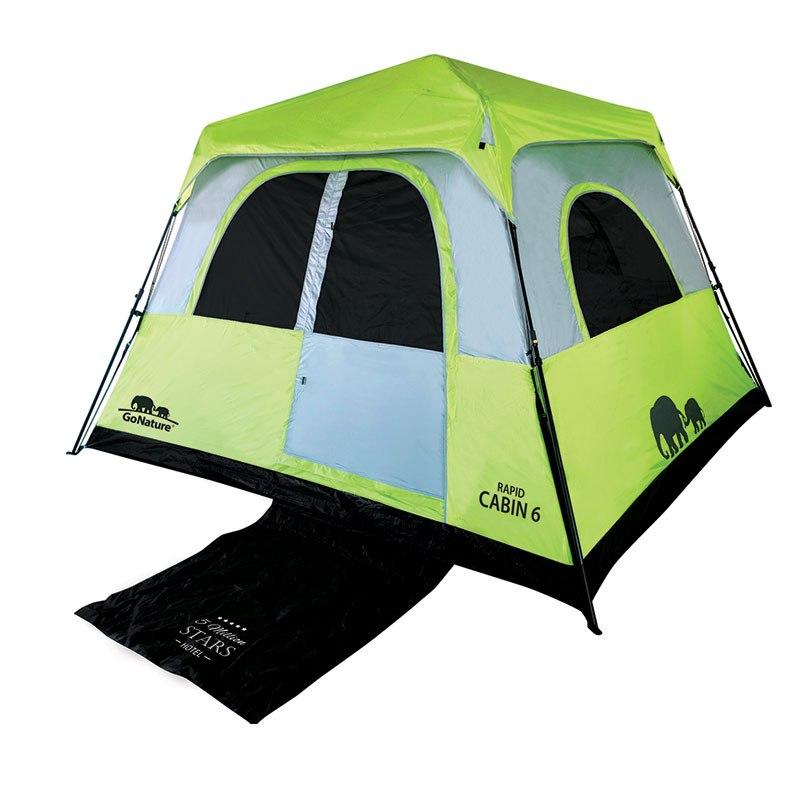 אוהל ל 6 אנשים משפחתי | RAPID CABIN