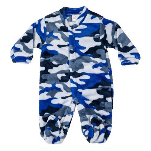 אוברול פרווה צבאי כחול