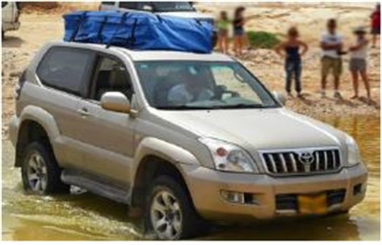 צ'ימידן ענק לגג הרכב | 490L- Tik 2 Car