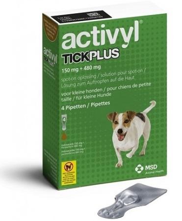 """אקטיויל טיק פלוס לכלב במשקל 10-5 ק""""ג"""