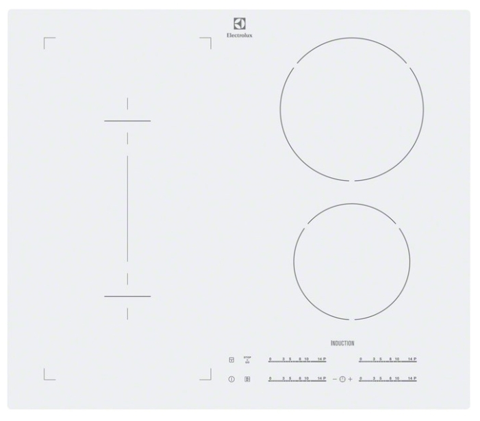 כיריים אינקוציה Electrolux EHI6540FOW
