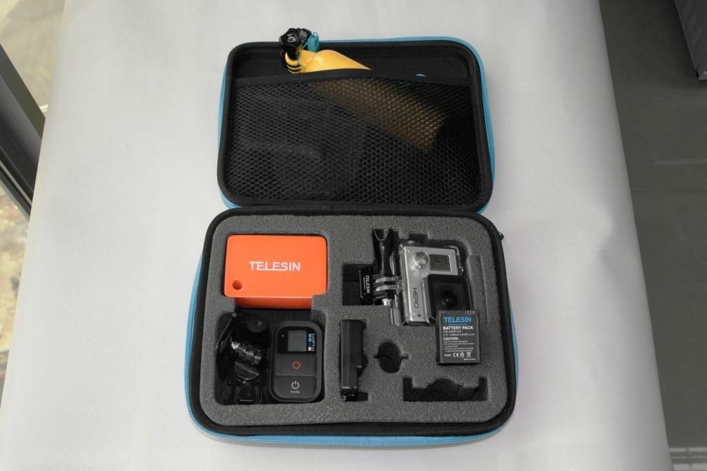 תיק נשיאה למצלמה מרופד חסין מים, לגופרו במבצע - ג'יפר