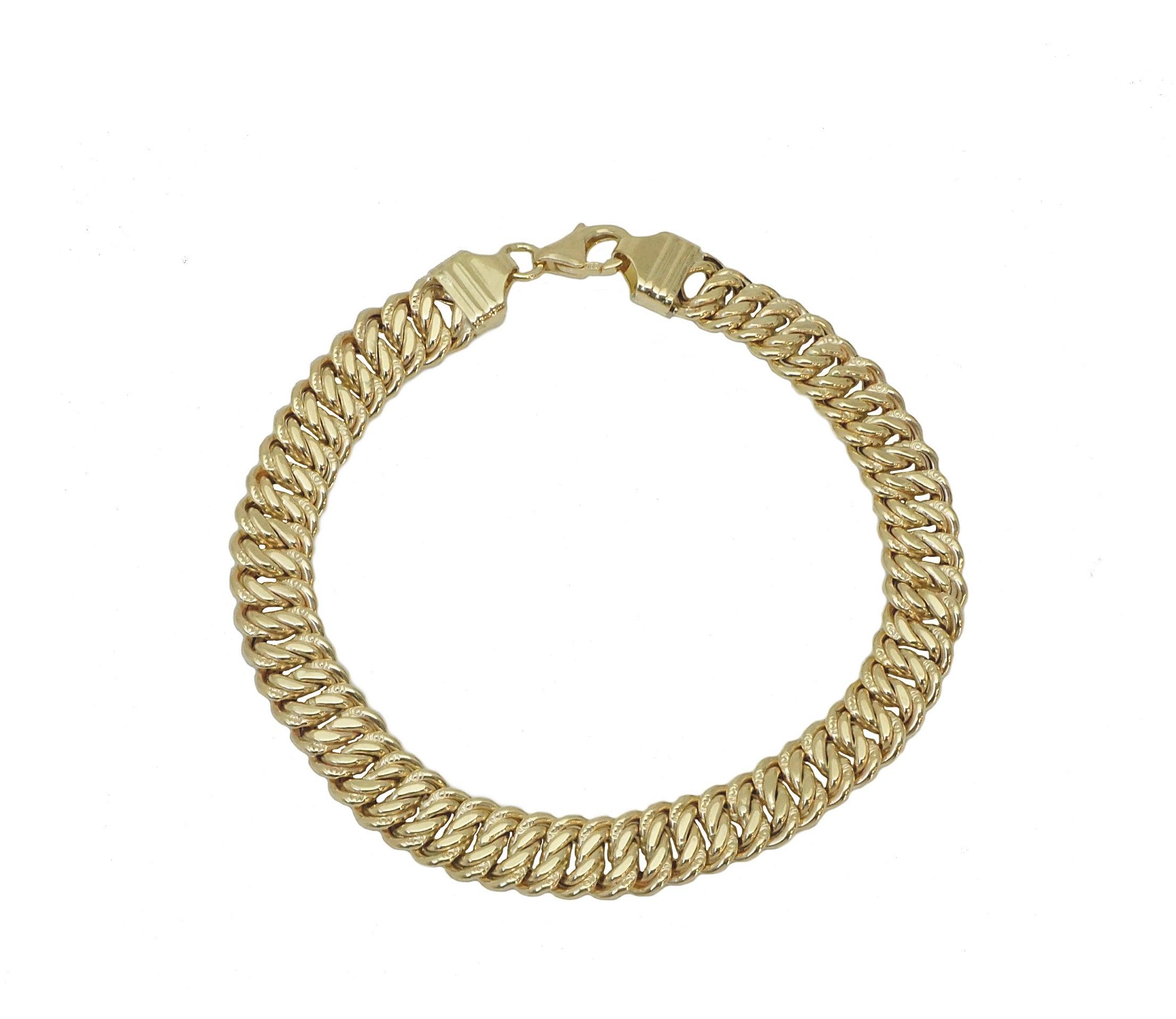 צמיד זהב לאישה חוליות עשיר ויוקרתי