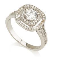 טבעת מזהב 14Kבשילוב שיבוץ זרקונים