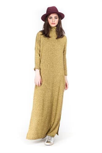 שמלה גבריאלה חרדל