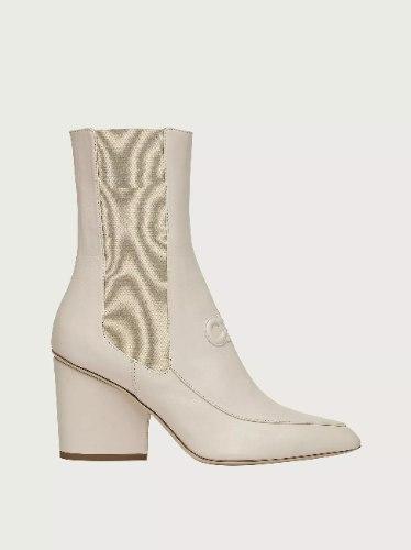 נעלי Salvatore Ferragamo MARINEO MILK Bootie נשים
