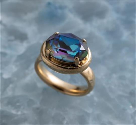 טבעת עדינה עוף החול