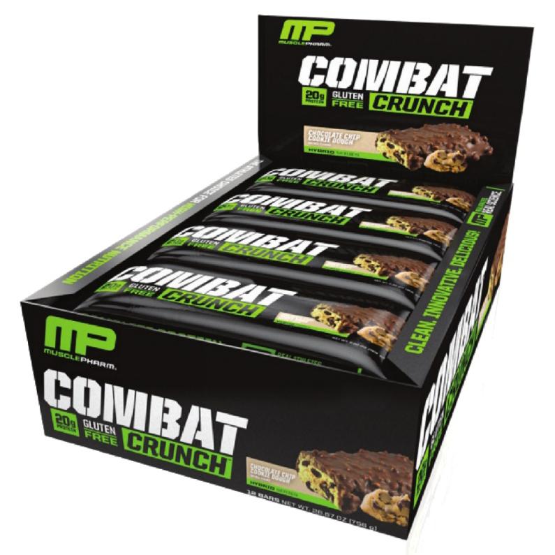 חטיף חלבון קומבט קראנץ' - 12 יח' - Combat Crunch