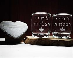 כוסות וויסקי מיוחדות