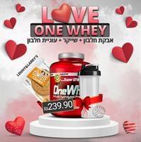 LOVE CHAMPION|אבקת חלבון וואן וואי 2.27KG+ עוגיית חלבון L&L+שייקר מתנה!