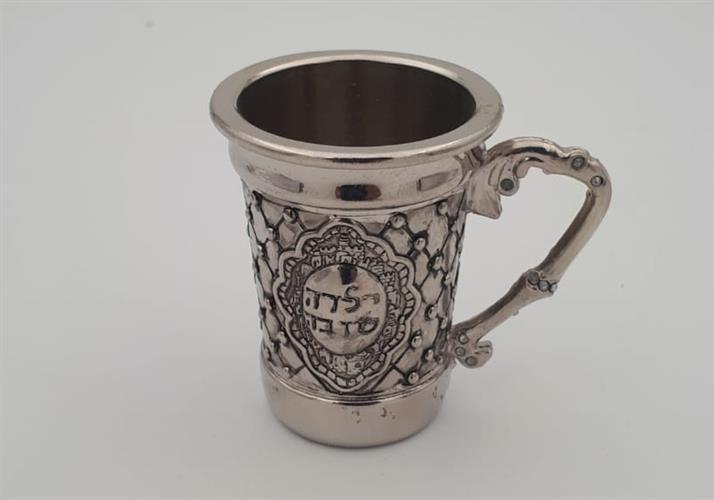 כוס קידוש מעוטר מעויינים