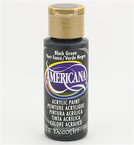 """צבע אמריקנה 59 מ""""ל Black Green DA157"""