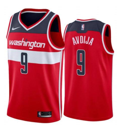 גופיית NBA וושינגטון וויזארדס אדומה - דני אבדיה DENI AVDIJA