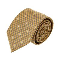 עניבה דגם פפיתה צהוב שחור