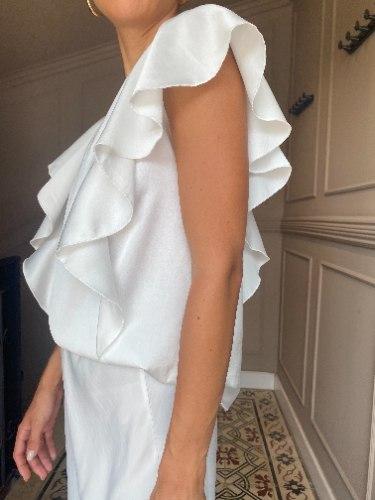 חולצת VAL לבנה