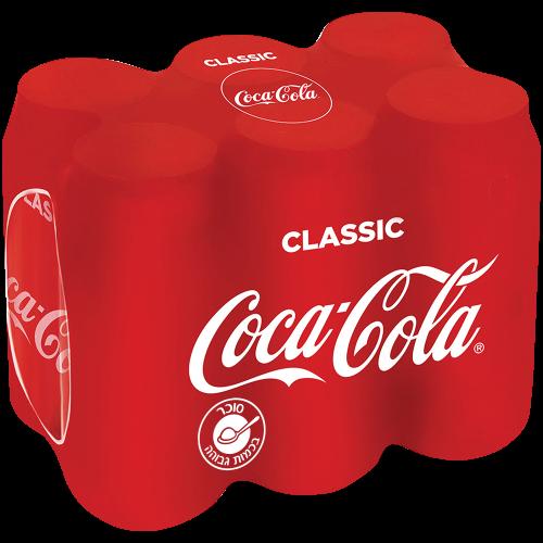פחית קוקה קולה מארז