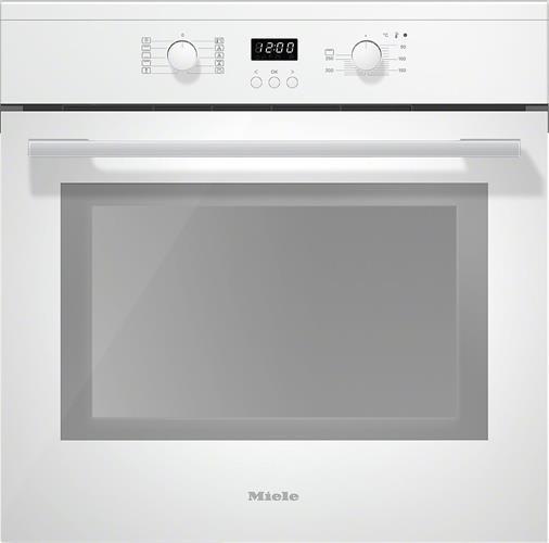 תנור אפיה בנוי 60 סמ מבית MIELE מילה דגם H2661-1 B White