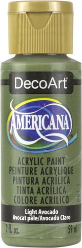 """צבע אמריקנה 59 מ""""ל Light Avocado DA106"""