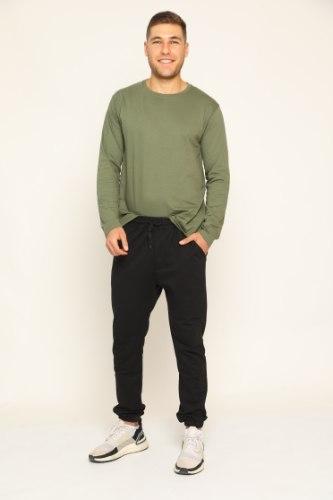מכנסיים לגבר מעבר גומי כיווץ