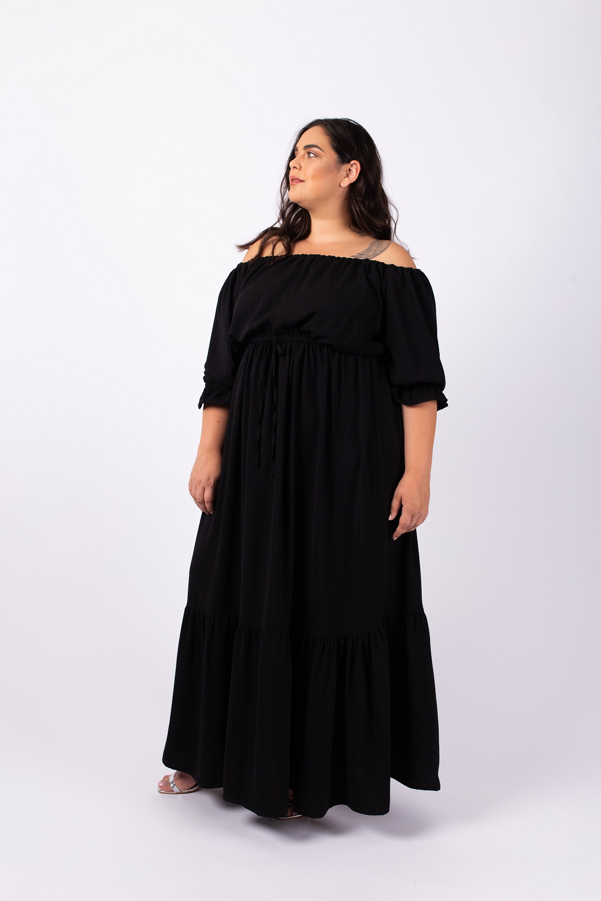 שמלת ג'יזל שחורה