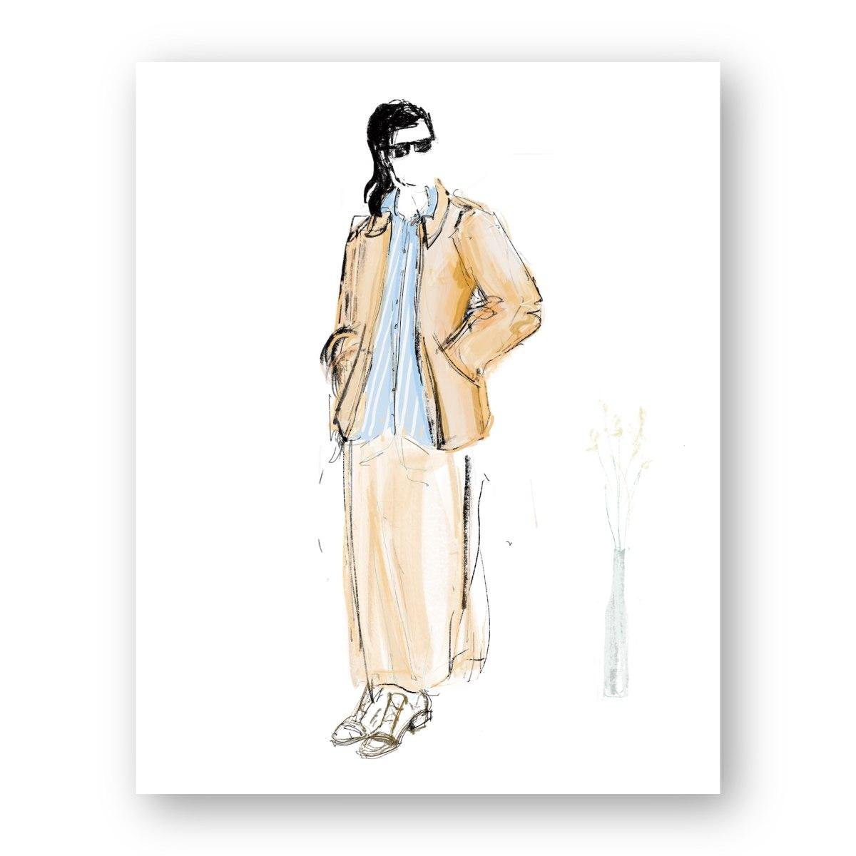 איור אופנה #15
