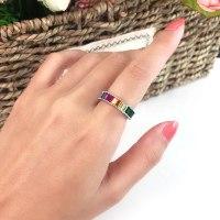 טבעת colourful דגם POL