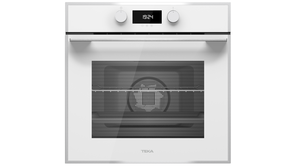תנור בנוי Teka HLB840 תקה זכוכית לבן עם מערכת ניקוי הידרוקלין