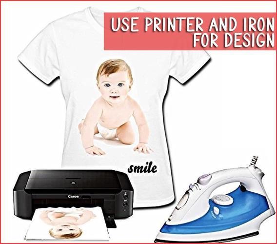 10 / 20 יחידות דפי A4 להדפסה על חולצות / תיקים ועוד...