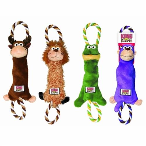 צעצוע לכלבים קונג בובות קשרים