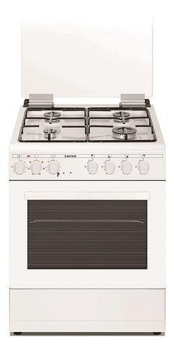 תנור אפיה Lenco LFS6089IX כולל להבת ווק