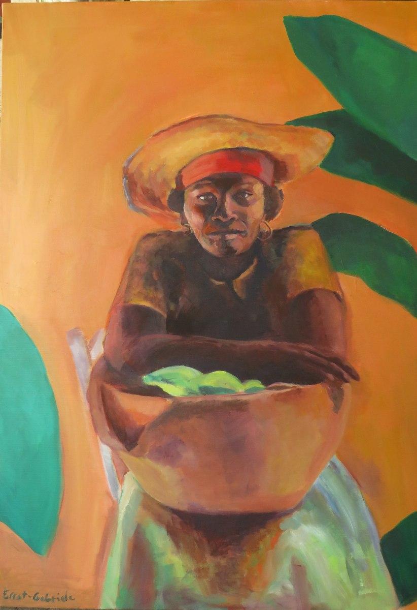 אשה עם סל, האייטי