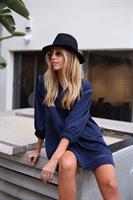 שמלת אריאנה כחולה
