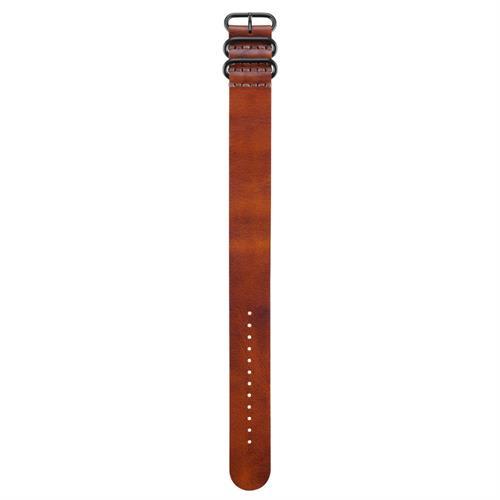 רצועה עור חומה מקורית לשעון Garmin Fenix 3