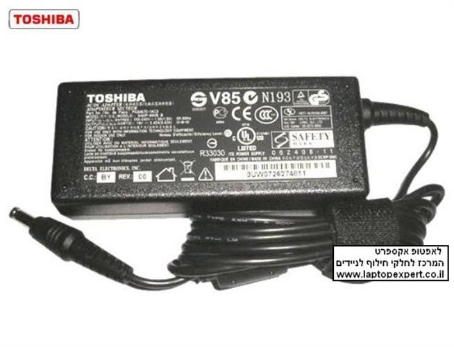 מטען מקורי למחשב נייד טושיבה Toshiba Satellite L300 / L305 / L350 / L355 / M300 / M305 Ac Adapter, 19V, 4.74A , 90 Watt